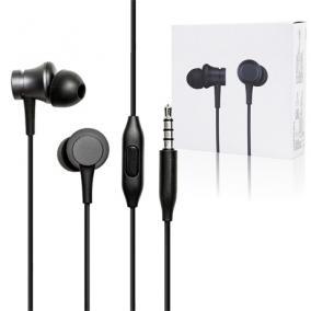 Fülhallgató headset - Xiaomi, MI IN-EAR BASIC FEKETE