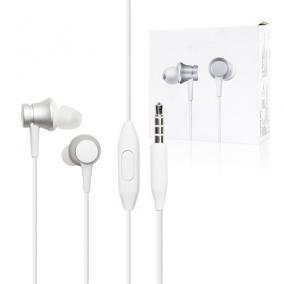 Fülhallgató vezetékes headset - Xiaomi, MI IN-EAR BASIC ezüst