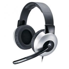 Fejhallgató Headset vezetékes- Genius, HS-05A