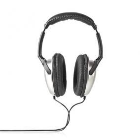 Fejhallgató vezetékes Hifi  - Nedis, HPWD1200BK