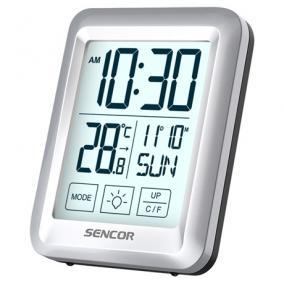 Hőmérő ébresztőórával - Sencor, SWS1918