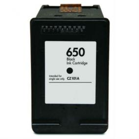 HP CZ101AE [Bk] #No.650 XL kompatibilis tintapatron (ForUse)