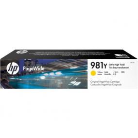 HP L0R15A [Y XXL] #No.981Y tintapatron (eredeti, új)