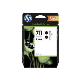 HP P2V31A [Bk] 2db #No.711 tintapatron (eredeti, új)