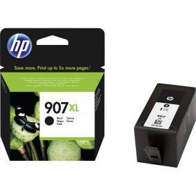 HP T6M19AE [Bk XL] #No.907XL tintapatron (eredeti, új)