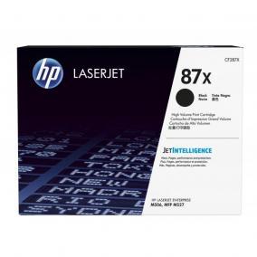 HP CF287X [BK] 18K #No.87X toner (eredeti, új)