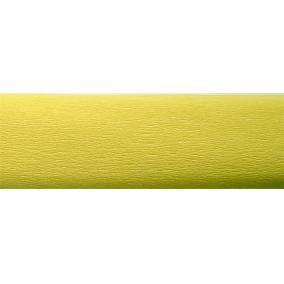 Krepp papír 50x200 cm, VICTORIA, világossárga