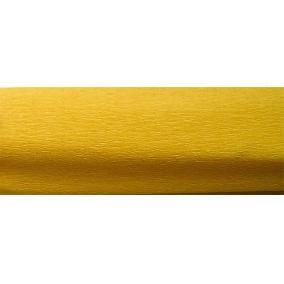 Krepp papír 50x200 cm, VICTORIA, aranysárga