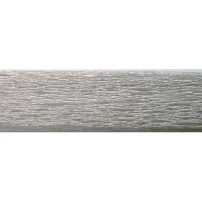 Krepp papír 50x200 cm, VICTORIA, ezüst