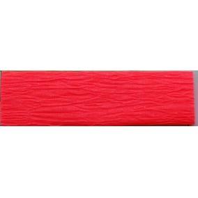 Krepp papír 50x200 cm, VICTORIA, neon piros