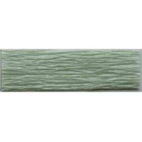 Krepp papír 50x200 cm, VICTORIA, gyöngyház zöld