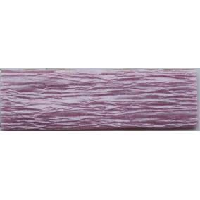 Krepp papír 50x200 cm, VICTORIA, gyöngyház lilás rózsaszín