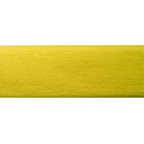 Krepp papír 50x200 cm, VICTORIA, citromsárga