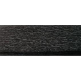 Krepp papír 50x200 cm, VICTORIA, fekete