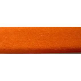 Krepp papír 50x200 cm, VICTORIA, narancssárga