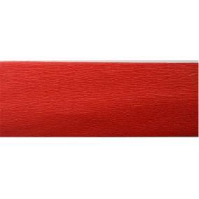 Krepp papír 50x200 cm, VICTORIA, piros