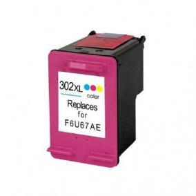 HP F6U67AE [Col XL] #No.302 kompatibilis tintapatron (ForUse)