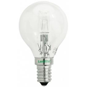 Halogén, E14, 42W, G45, 625lm, 2800K, kisgömb formájú fényforrás (HSL-G45-42W)