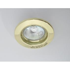 Halogén, GU5.3 (MR16), 3x20W, Ø80mm, fix, arany, spot lámpa szett (KIT-57A-3)