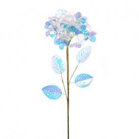 Hortenzia fényes polyester 60 cm x 20 cm x 20 cm színjátszó