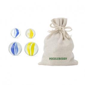 Huckleberry üveggolyók