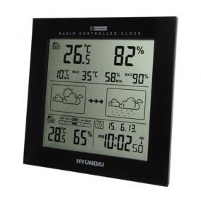 Időjárás állomás - Hyundai, WS2244B FEKETE