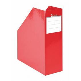 Iratpapucs, karton, 90 mm, Premium, piros