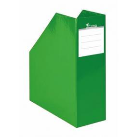 Iratpapucs, karton, 90 mm, Premium, zöld
