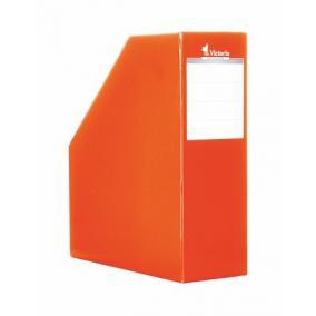 Iratpapucs, karton, 90 mm, narancs