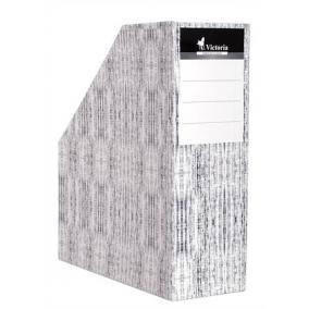Iratpapucs, karton, 90 mm, VICTORIA [Textil]