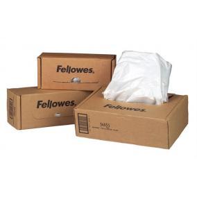 Hulladékgyűjtő zsák iratmegsemmisítőhöz, 23-28 literes kapacitásig, FELLOWES [100 db]