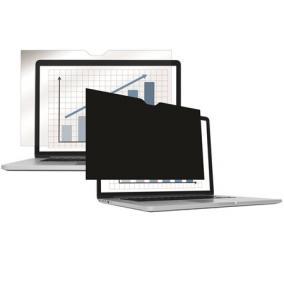 Monitorszűrő, betekintésvédelemmel, 551x345 mm, 26,0