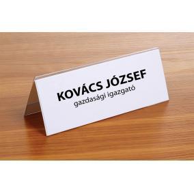 Ültetőkártya, 120x45 mm, FELLOWES [50 db]