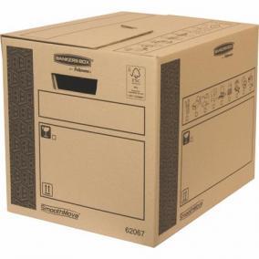 Költöztető doboz, 32x32x40 cm, FELLOWES,
