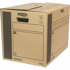 Költöztető doboz, 35x37x50 cm, FELLOWES,