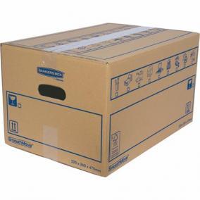 Költöztető doboz, 32x26X47 cm, FELLOWES