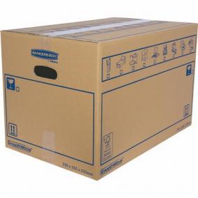 Költöztető doboz, 35x35X55 cm, FELLOWES