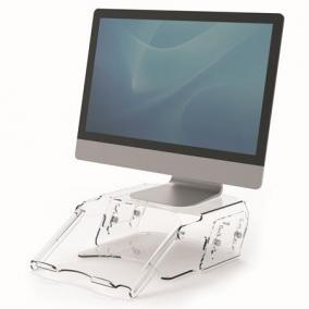 Monitorállvány, állítható, dokumentumtartóval, FELLOWES