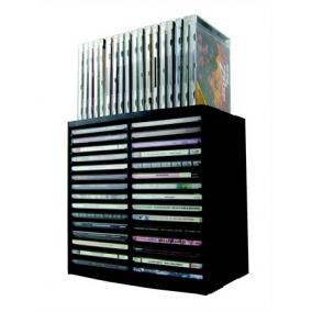 CD-tároló, automata kiemelőrendszerű, 30+18 db-os, FELLOWES