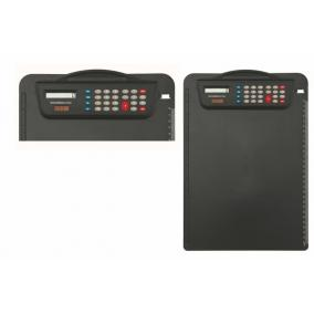 Felírótábla számológéppel, A4,  fekete