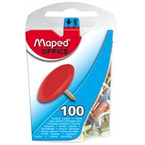Rajzszeg, 100 db-os, MAPED, színes [100 db]