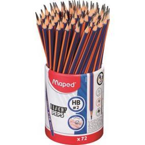 Grafitceruza, ceruzatartó, HB, háromszögletű, MAPED