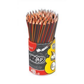 Grafitceruza radírral, ceruzatartó, HB, háromszögletű, MAPED