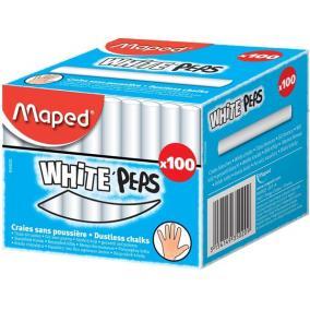 Táblakréta, MAPED, fehér [100 db]
