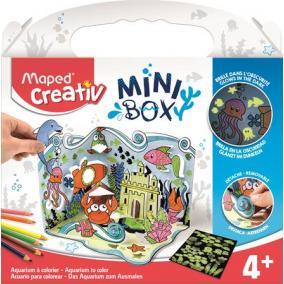 Akvárium készítő kreatív készségfejlesztő készlet, MAPED CREATIV,