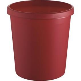 Szemetes, 18 liter, HELIT, piros
