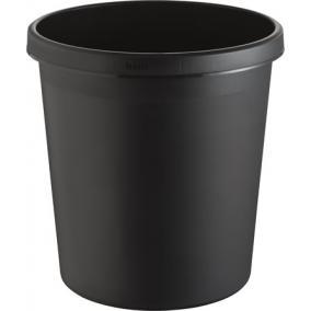 Szemetes, 18 liter, HELIT, fekete