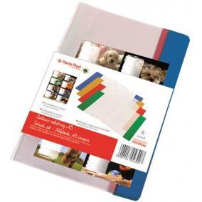 Füzet- és könyvborító + füzetcímke, A5, PVC,  PANTA PLAST [16 db]