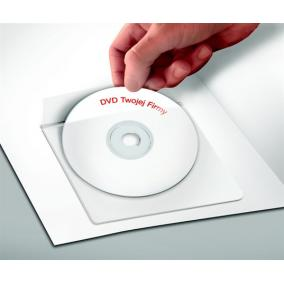 CD tartó zseb, öntapadó, 129x129 mm, PANTA PLAST [25 db]
