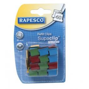 Utántöltő kapcsok, RAPESCO,